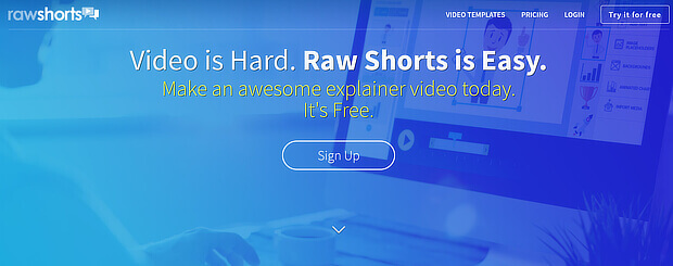 use rawshorts as a visual content creation tool