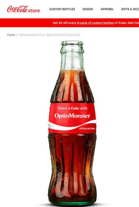 share a coke content marketing campaign