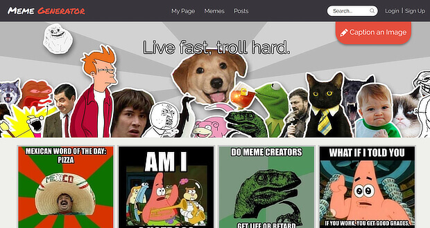 Meme Generator for visual content creation