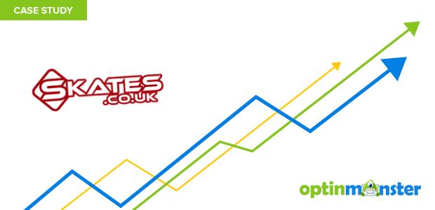 Skates.co.uk increased conversions 10% using OptinMonster's geotargeting