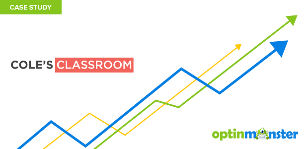 Coles Classroom uses OptinMonster to add 55K in sales