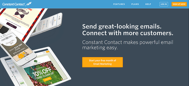 constant contact - content marketing tools