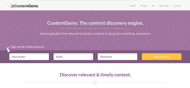 content gems content curation software