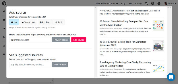 freemium content curation tools - anders pink