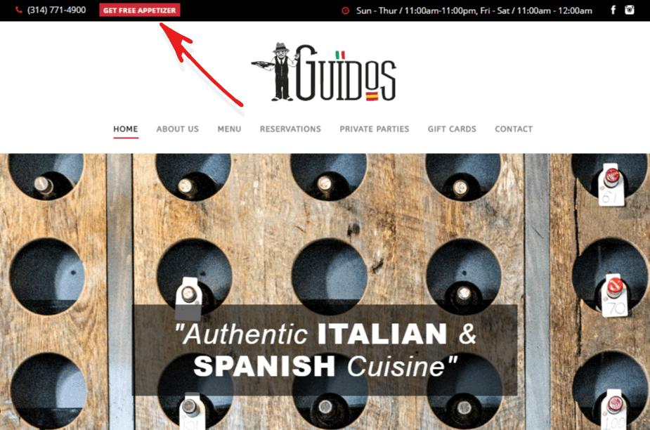 Restaurant marketing strategies using a Monsterlink