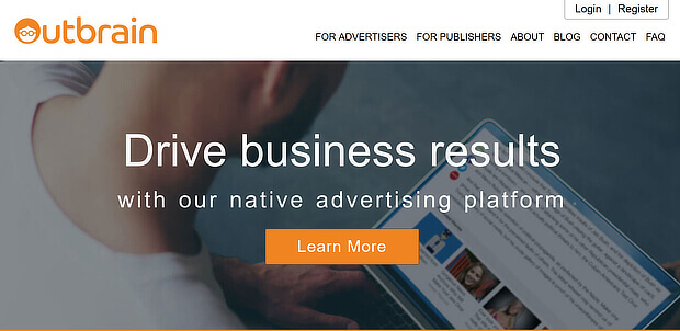 content promotion outbrain