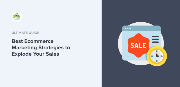 ecommerce marketing strategies featured image
