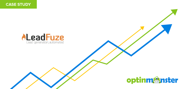 LeadFuze uses OptinMonster to increase conversions 4X
