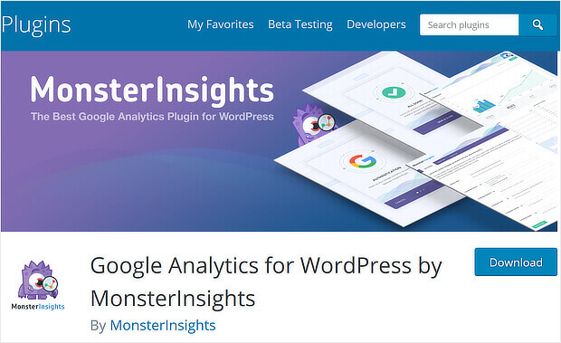 use monster insights for content marketing
