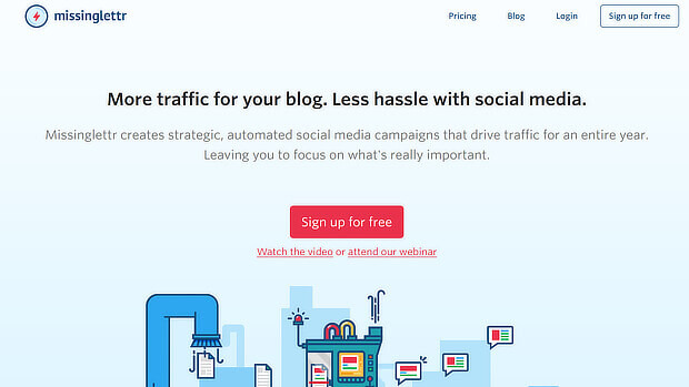 missinglettr content marketing tool