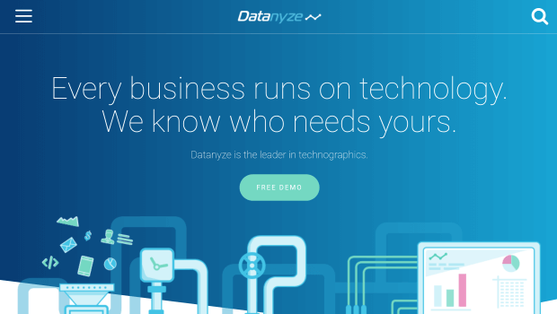 top lead management software - datanyze