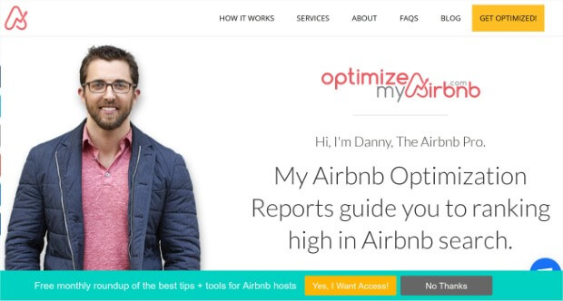 see optimizemyairbnb's above the fold content