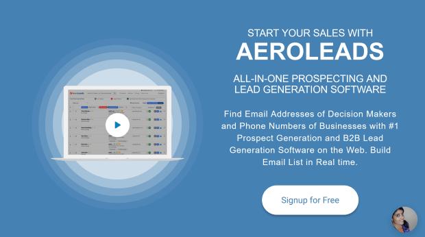 aeroleads lead generation software