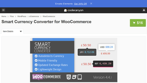 Smart Currency Converter for WooCommerce ecommerce personalization