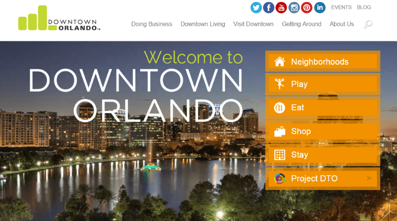 Downtown Orlando adds over 4000 subscribers a year using OptinMonster