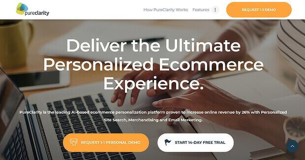 ecommerce personalization tools - PureClarity