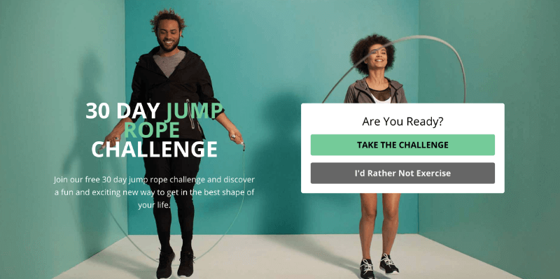 Crossrope drives challenge registrations with OptinMonster