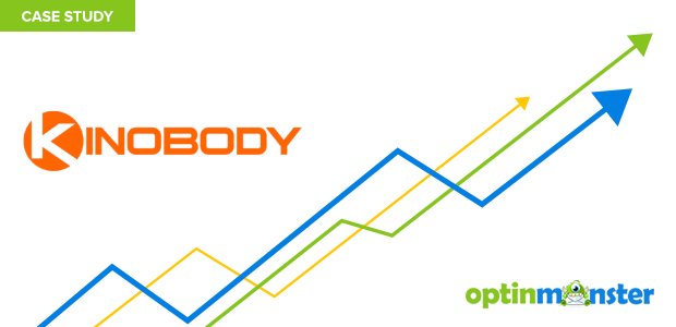 Kinobody uses OptinMonster to build their email list.