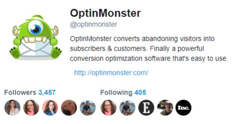 OptinMonster Twitter button