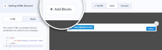 add new block