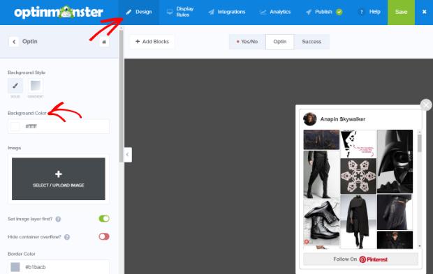 pinterest follow button for website