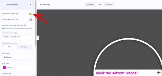 pinterest plugin wordpress optinmonster enable slide toggle