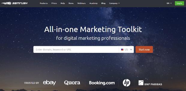 best affiliate marketing tools 2019 - semrush