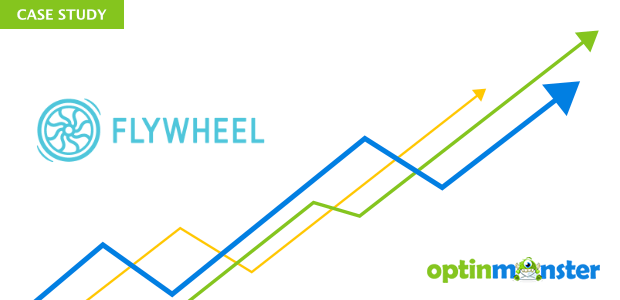 Flywheel used OptinMonster to increase engagement.