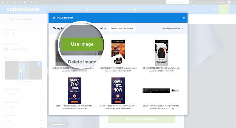 Click Use Image
