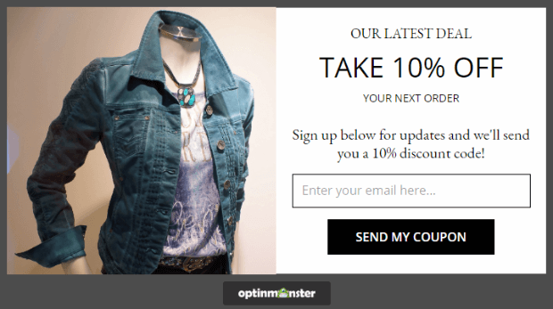 Sometimes existing customers will sign up for your email list to take advantage of a special offer
