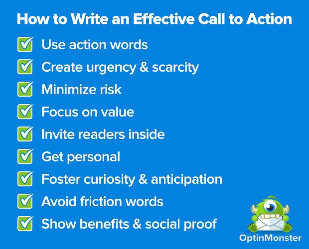 how to create an effective call to action