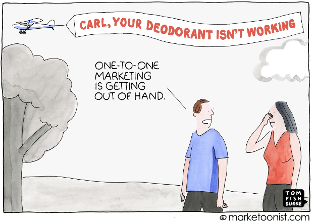 one to one marketing example