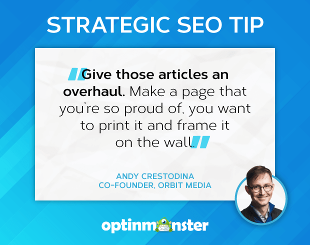 seo tips crestodina rewrite and optimize posts