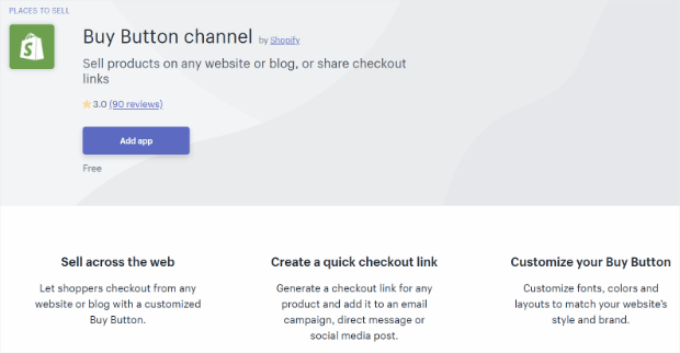 buy button channel