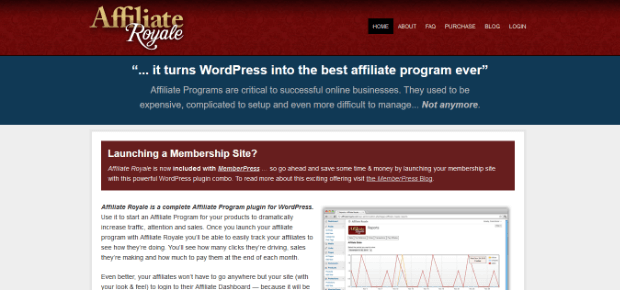 affiliate royale wordpress plugin