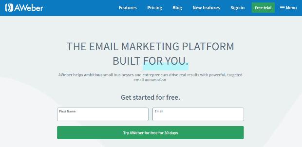 aweber email marketing platform