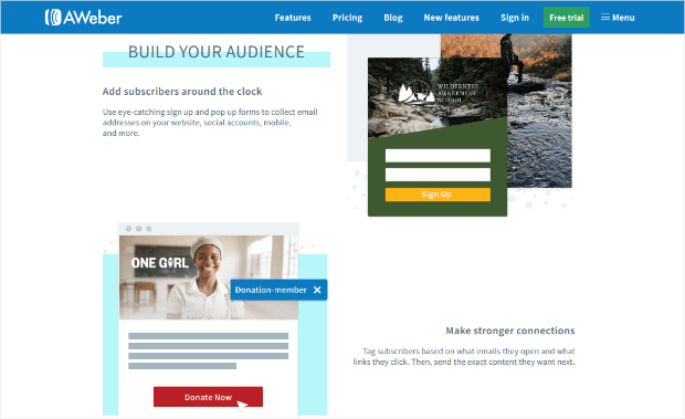 aweber email marketing service alternative to mailchimp