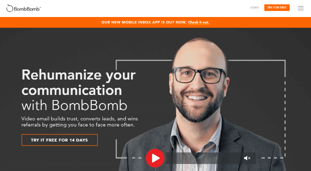 bombbomb video email