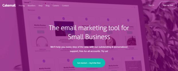 cakemail email split testing