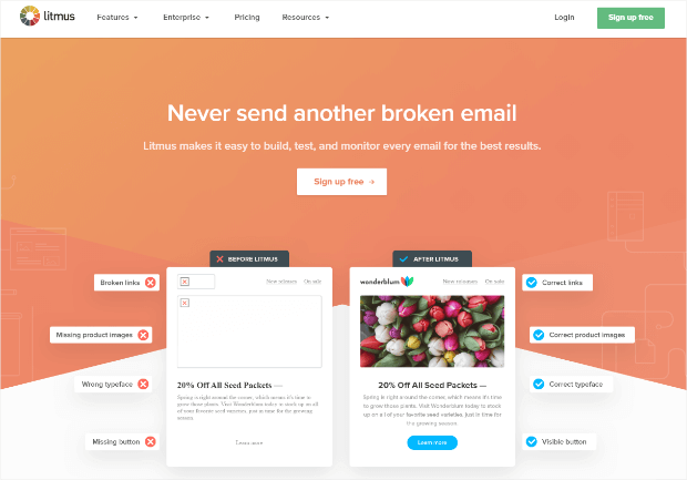 litmus email optimization