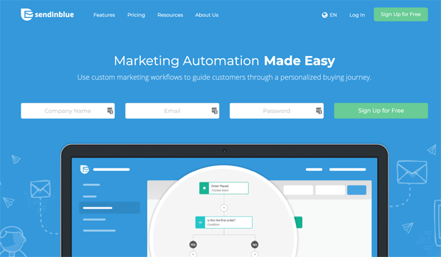 Sendinblue Marketing Automation