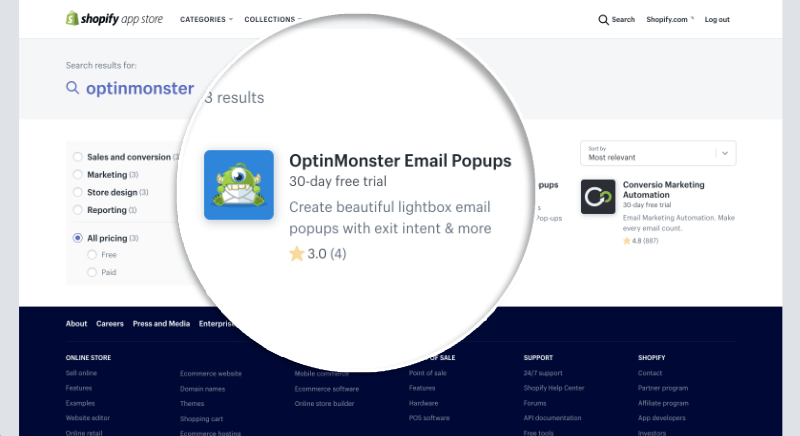 OptinMonster App