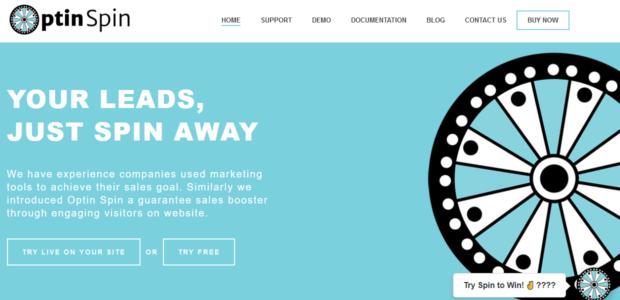 OptinSpin WordPress spinning wheel plugin