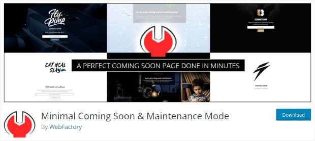 minimal-coming-soon-maintenance-mode-plugin