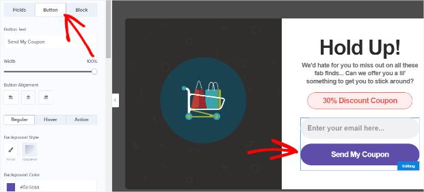 edit your campaign's button design