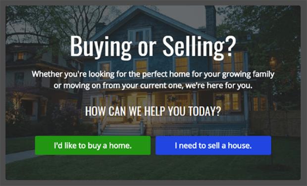real estate customer feedback optin example