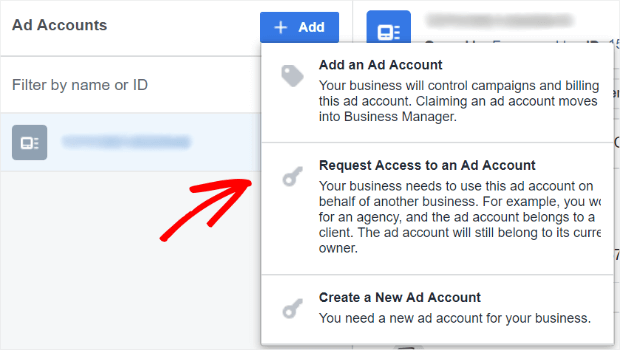 ways to add a new ad account