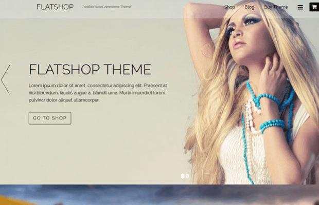 flatshop woocommerce theme