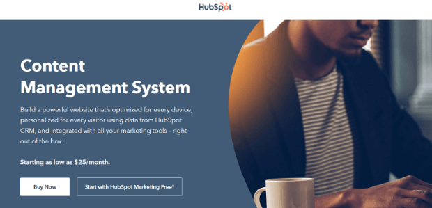 hubspot website builder