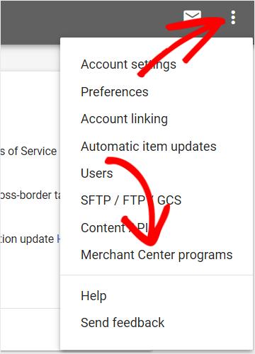 merchant center programs